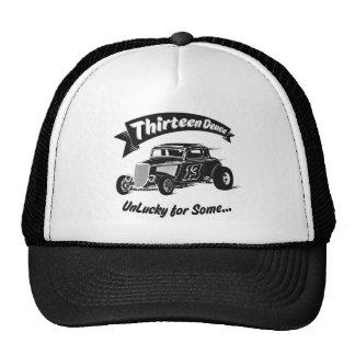 Thirteen Deuce Unlucky For Some Hot Rod Mesh Hats