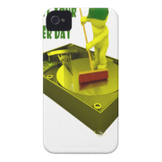 Thirteenth February - Clean Out Your Computer Day Case-Mate iPhone 4 Cases