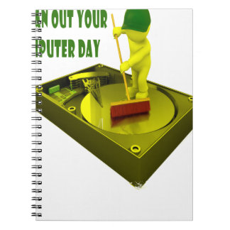 Thirteenth February - Clean Out Your Computer Day Notebooks