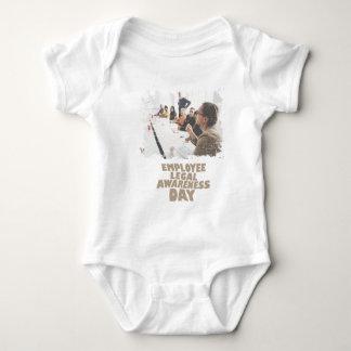 Thirteenth February - Employee Legal Awareness Day Baby Bodysuit