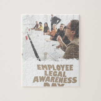 Thirteenth February - Employee Legal Awareness Day Jigsaw Puzzle