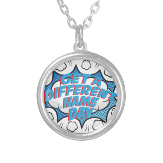 Thirteenth February - Get A Different Name Day Silver Plated Necklace