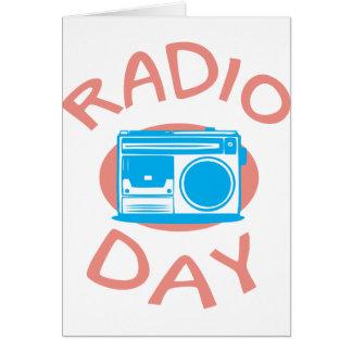 Thirteenth February - Radio Day - Appreciation Day Card