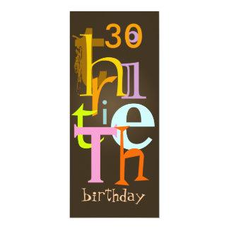 Thirtieth Birthday Party Invitations