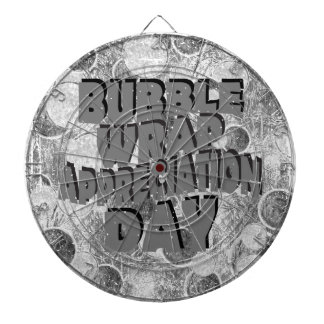 Thirtieth January - Bubble Wrap Appreciation Day Dartboard