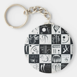 Thirty Basic Round Button Key Ring