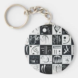 Thirty Basic Round Button Key Ring