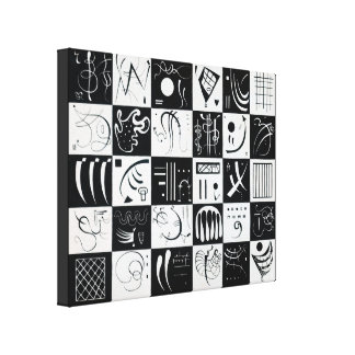 Thirty by Wassily Kandinsky Canvas Print
