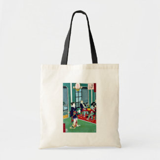 Thirty six amusements in Tokyo  foreigners Budget Tote Bag