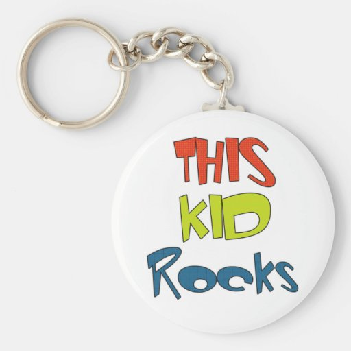 This Baby Rocks Keychain