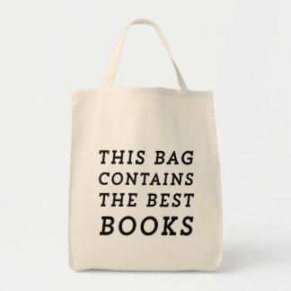This Bag Contains the Best Books