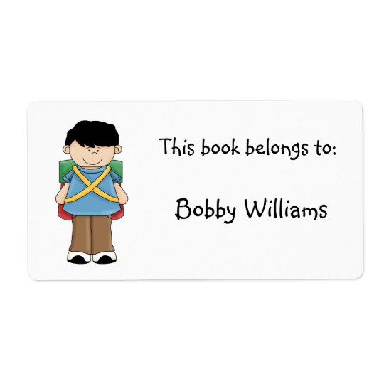 This book belongs to:-Boy