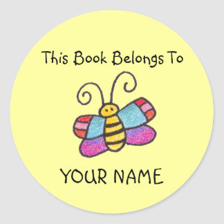 This Book Belongs To You Sticker