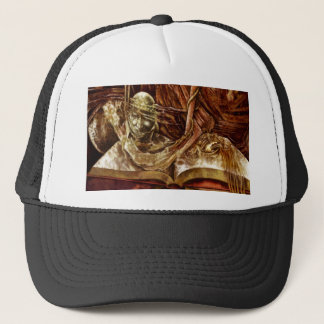 This Book Is Haunted Trucker Hat