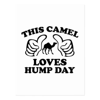 This Camel Loves Hump Day Postcard