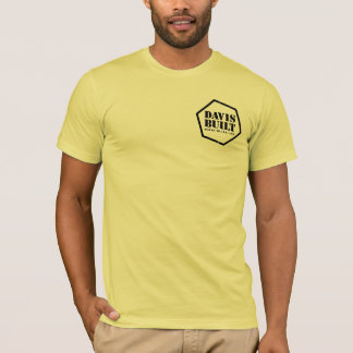 THIS COULD GET MESSY. (black/lemon) T-Shirt