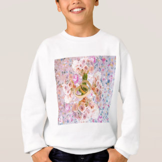 This cross of roses bouquets bless your love sweatshirt