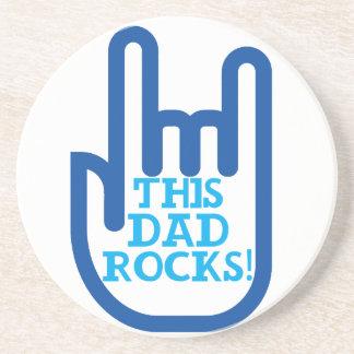 This Dad Rocks! Coasters