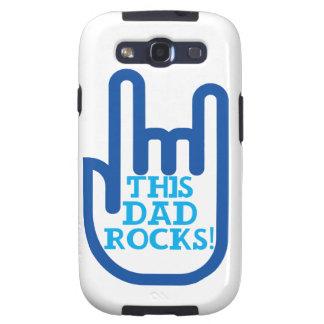 This Dad Rocks! Samsung Galaxy SIII Cover