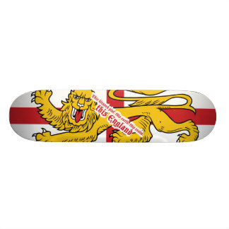 This England Skateboard Deck