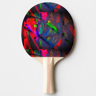 This Eternal Flower Ping Pong Paddle