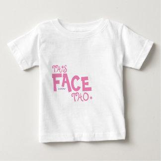 This Face Tho - MzSandino Baby T-Shirt
