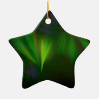 This fractal looks like aurora ceramic ornament