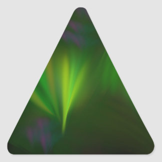 This fractal looks like aurora triangle sticker