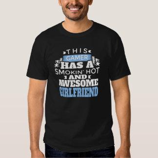 This Gamer Has a Smokin Hot Men Black Shirt