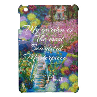 This garden is a masterpiece iPad mini cover