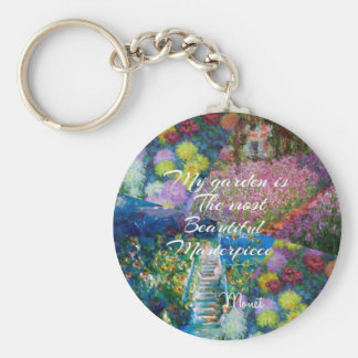 This garden is a masterpiece key ring