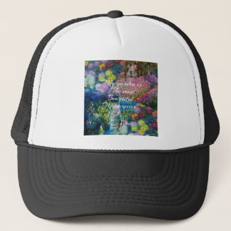This garden is a masterpiece trucker hat