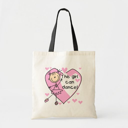 This Girl Can Dance T-shirts and Gifts Canvas Bag