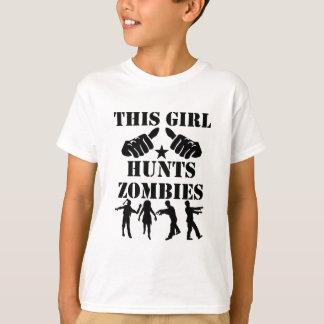 This Girl Hunts Zombies T-Shirt