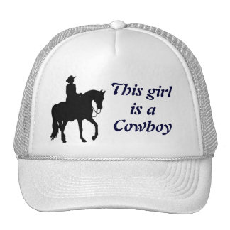 This Girl is a Cowboy Cap