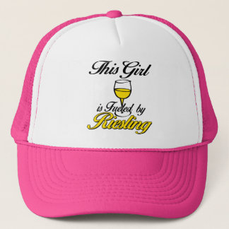 This Girl is Fueled by Riesling Trucker Hat