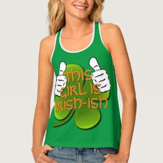 This Girl Is Irish Singlet