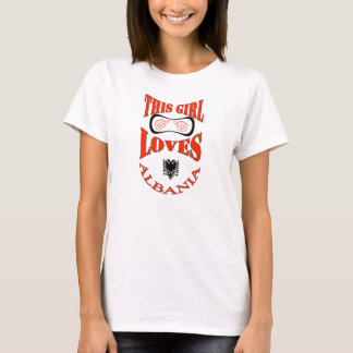 This Girl Loves Albania T-Shirt