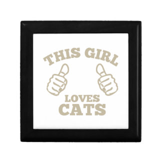 This Girl Loves Cats Gift Box