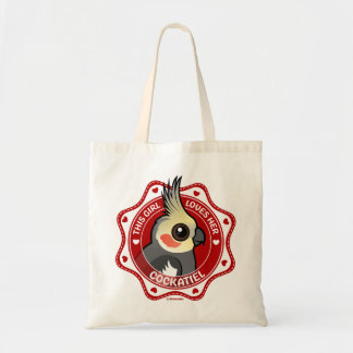 This Girl Loves Her Cockatiel Tote Bag