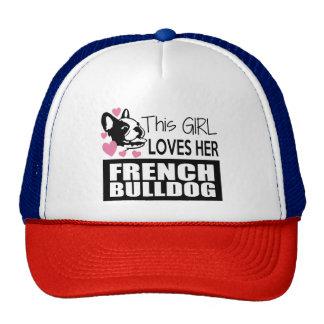 This Girl Loves Her French Bulldog Cap