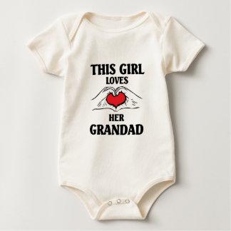 This girl loves her Grandad Baby Bodysuit
