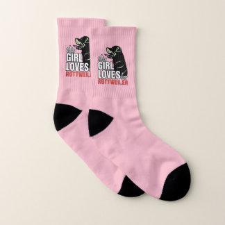 This Girl Loves Her Rottweiler Socks