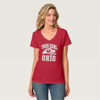 This girl loves Ohio T-Shirt