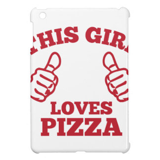 This Girl Loves Pizza iPad Mini Cases