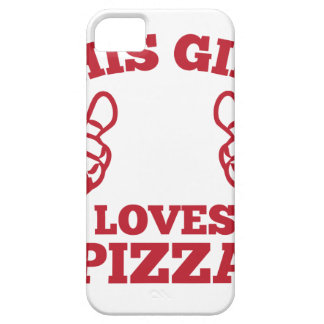 This Girl Loves Pizza iPhone 5 Case