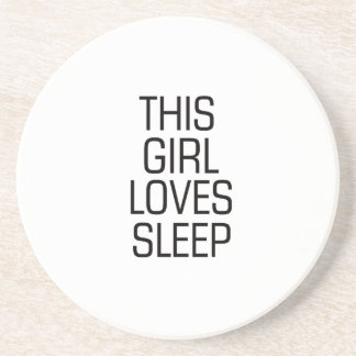 This girl loves sleep coaster