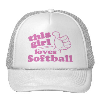 This Girl Loves Softball Cap