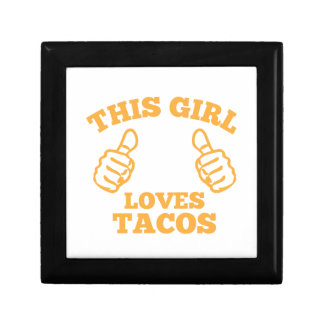 This Girl Loves Tacos Gift Box