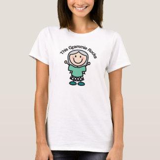 This Grammie Rocks Gift Idea T-Shirt